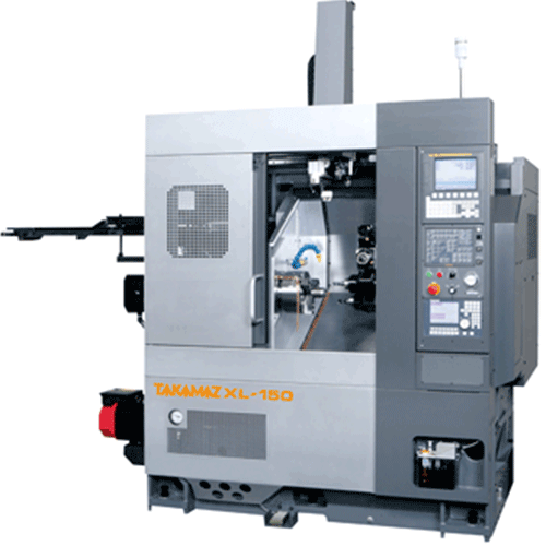 TAKAMAZ, XL Series, XL-150, Highly efficient, large spindle motor output, heavy cutting, Automated Turning Center
