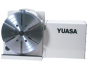 YUASA, DRFT Series, DRFT-320 with Fanuc AC servo motor, Full Fourth Axis Rotary Table, CNC Rotary