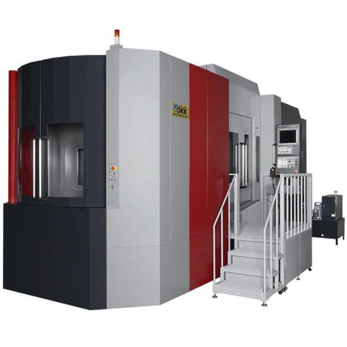 OKK, 5AX Series, HM-X8000, Tilting Spindle 5-Axis Horizontal Machining Center for Large Complex Parts, 5-Axis Machining Center