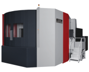 OKK, HM Series, HM1600, Superior performance ensuring high-speed machining, rigidity, reliability, and chip evacuation, Horizontal Machining Center