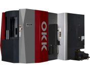 OKK, HM Series, HM500S-50, Superior performance ensuring high-speed machining, rigidity, reliability, and chip evacuation, Horizontal Machining Center