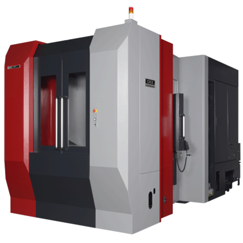 OKK, HM Series, HM6000S, Superior performance ensuring high-speed machining, rigidity, reliability, and chip evacuation, Horizontal Machining Center