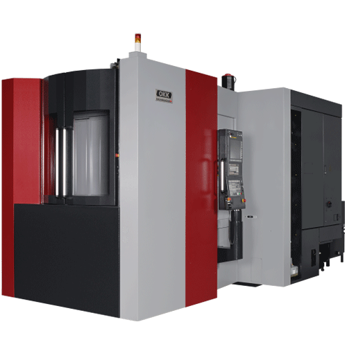 OKK, MCH Series, MCH5000R, Super Heavy Duty Box-Way Horizontal Machining Center, 500mm Box-Way Horizontal Machining Center