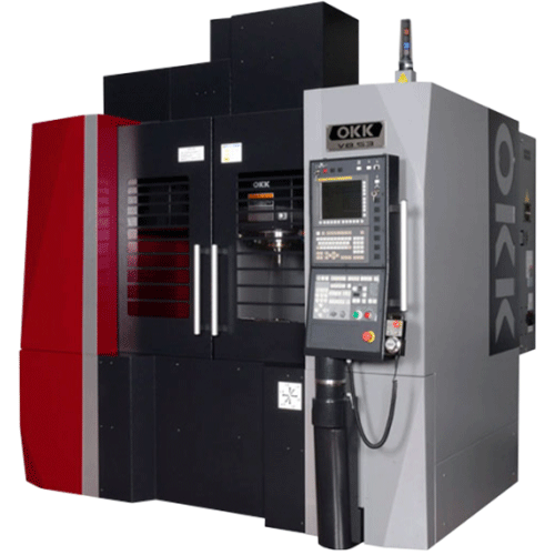 OKK, VB Series, VB53, High quality die & mold, compact vertical machining center