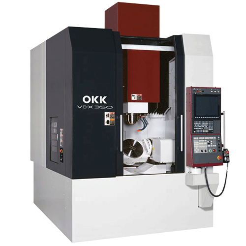 OKK, 5AX Series, VC-X350, Effective for Highly-efficient Intensive machining of Dies and Complex Parts, 5-Axis Machining Center