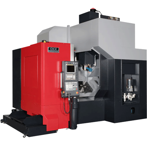 OKK, 5AX Series, VC-X500, Effective for Highly-efficient Intensive machining of Dies and Complex Parts, 5-Axis Machining Center