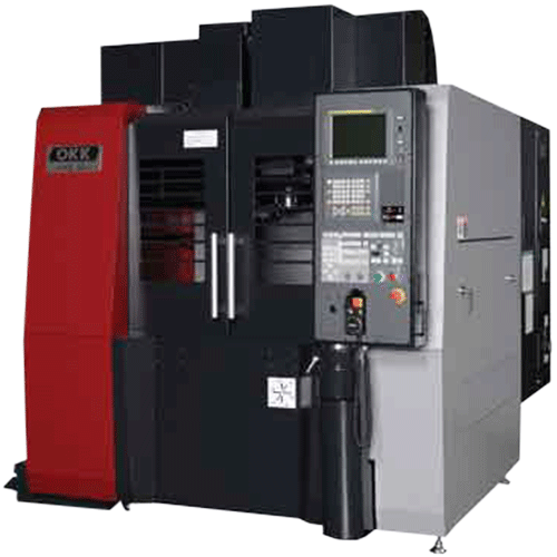 OKK, VC Series, VC51, High-Performance compact vertical machining center