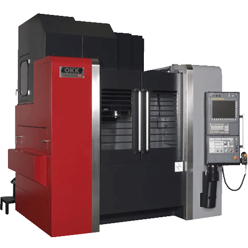 OKK, VMR Series, VM53R, Heavy duty cutting, highly rigid, vertical machining center