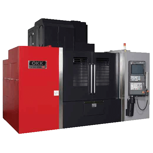 OKK, VMR Series, VM76R, Heavy duty cutting, highly rigid, vertical machining center