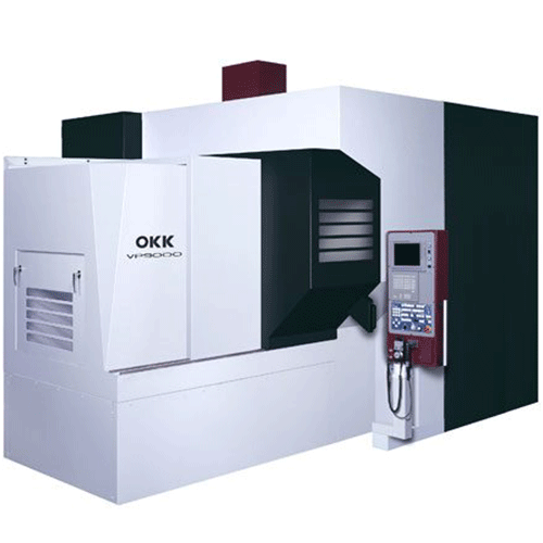 OKK, VP Series, VP9000, High speed, high-accuracy hyper machining center, Vertical Machining Center