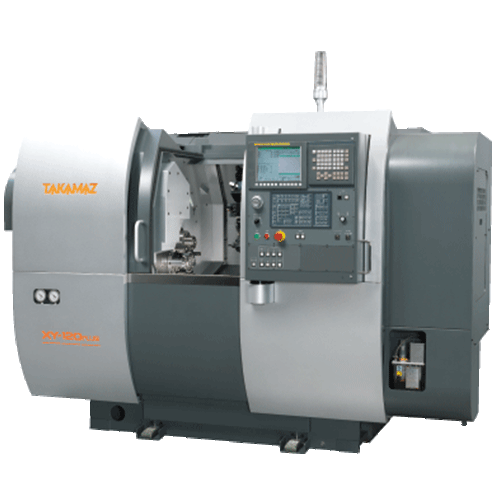TAKAMAZ, XY Series, XY-120 Plus, Efficient milling/turning, large capacity for tools, short cycle time, Automated Turning Center