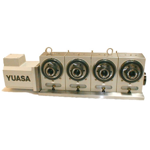 YUASA, DMNC Series, DMNC 5CA-4, Multi-Spindle 5C Rotary Table, CNC Rotary