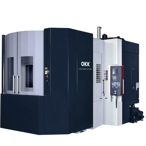 OKK, HM Series, HM800S, Superior performance ensuring high-speed machining, rigidity, reliability, and chip evacuation, Horizontal Machining Center