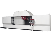OKK, 5AX Series, KCV1000-5AX, Efficient machining of long workpeices with 5-axis spindle head capability, 5-Axis Machining Center
