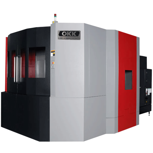 OKK, MCH Series, MCH8000R, Super Heavy Duty Box-Way Horizontal Machining Center, 800mm Box-Way Horizontal Machining Center