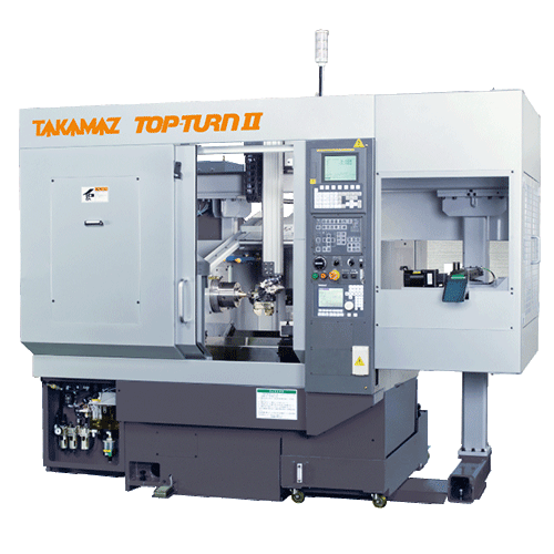 TAKAMAZ, Turn Series, Top-Turn II, Highly efficient, short cycle time with high speed ΣGH loader, Automated Turning Center