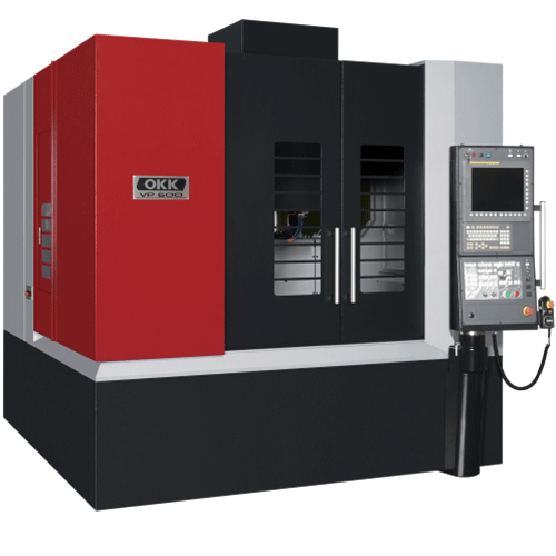 OKK, VP Series, VP600, High speed, high-accuracy hyper machining center, Vertical Machining Center