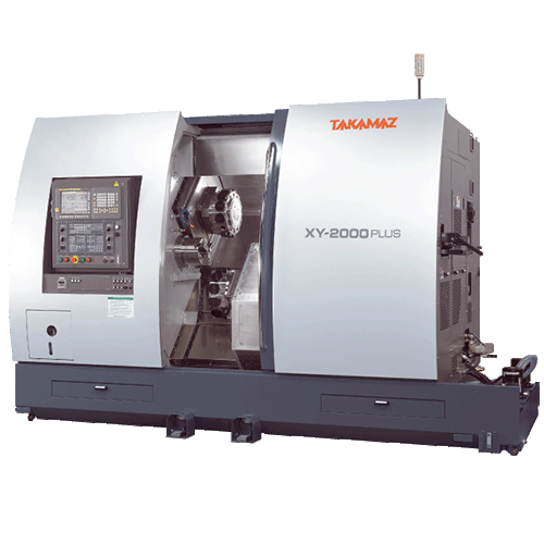 TAKAMAZ, XY Series, XY-2000 Plus, Highly efficient, multi-turning operation, suitable for bar materials, Automated Turning Center